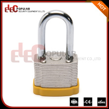 Elecpopular Most Popular Products 34mm Steel Lock Body Laminated Locker Padlock