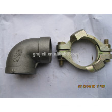 Accesorios de tubería roscados fundidos de Inox Aprobación ISO / Acero inoxidable de alta calidad Fundición de tubos roscados
