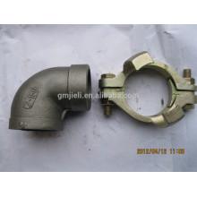 Фитинги для резьбовых соединений Inox с резьбой ISO Утвержден / Высококачественная нержавеющая сталь с резьбовой трубкой