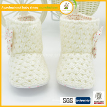 whosale beutiful wool crochet baby shoes with high quality whosale beutiful crochet baby shoes