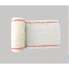 Bandage PBT élastique en coton stérile médical de premiers soins