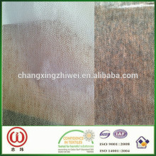 Kirghitzstan top sale 35gsm 90cm width 145cm length non woven fusible interlining