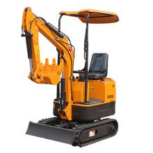 Mini excavatrice hydraulique XN08 de 0,8 tonne sur chenilles rc