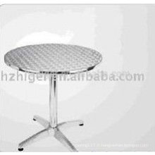 Pièces de table en aluminium de moulage en aluminium Pièces de chaise en aluminium de pièces de meubles