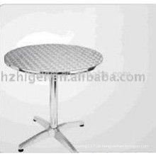 Peças de mesa de alumínio de fundição de alumínio Peças de cadeira de alumínio de peças de mobiliário de alumínio
