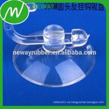 Taza de succión resistente al vacío de PVC con gancho