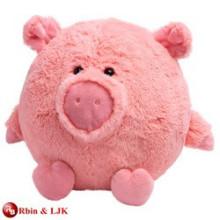 Alta calidad personalizado relleno juguete de cerdo grande