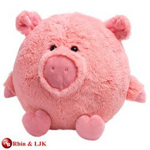 High quality custom stuffed big pig toy
