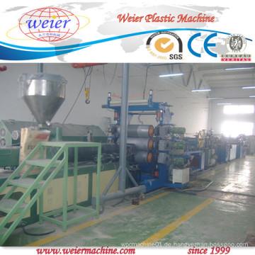 400mm 600mm Extruder PVC Blatt Kantenbanding Produktionsmaschine Linie