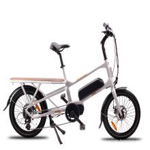 Bicicleta elétrica da carga da marca 36V 250w 20inch de MOTORLIFE / OEM com motor meados de