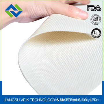 Ptfe teflon coated fiberglass fabric for Textile Interlining Thermo-fuse pressing