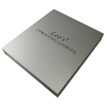 High-End Cosmetic Hot Foiled Livro Caixa De Papel De Presente