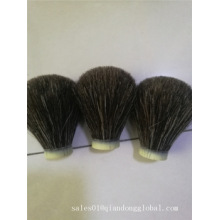24mm Black Horse Hair Shaving Brush Knot