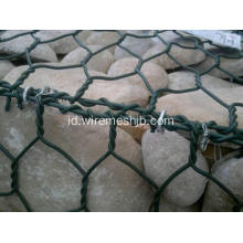 3,5 mm Galvanized Gabion Box untuk River Bank Project
