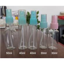 Botella de spray de plástico PET de 100 ml