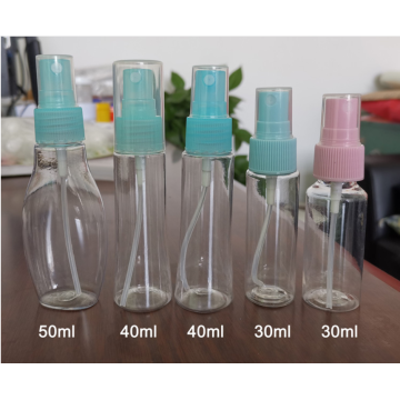 100ml PET plastic spray bottle