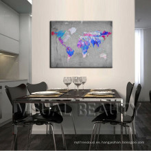 Abstract World Maps Ideas de Decoración
