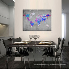 Abstract World Maps Decorating Ideas