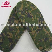 camouflage eva sole material for slipper