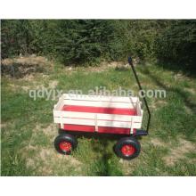 Four wheel wooden wagon for children TC2017