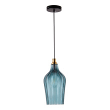 Nordic simple single light luxury glass pendant lamp