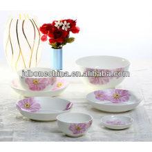 export A grade British Spanish Chinese Portuguese royal fine bone china dinning kitchenware set