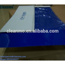 Washable cleanroom Sticky Mat and tracy traxx used in factory