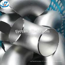 201 304 2 pouces long rayon haute qualité en acier inoxydable coude