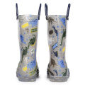 2020 China New Fashion Half Calf Rain Boots with Lights for kids