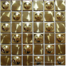 Mosaic Wall Tile, Stainless Steel Metal Mosaic (SM241)