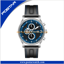 Import China Goods Mens Leather Strap Wrist Watches