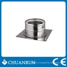 Stainless Steel Double Wall Pipe Adaptor for Pellet Stoves