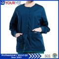 Custom Hospital Healthcare Workwear Warm up Snap Front Scrub Jacket (YHS114)