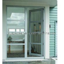 Abertura não-instrutiva de portas de alumínio com dobradiça