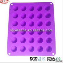 Popular Around World Mini 30 Cavity Novelty Silicone Cake Molds