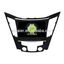 Núcleo Octa! Android 8.0 carro dvd para Hyundai Sonata 2014 com 9 polegadas tela capacitiva / GPS / Link Mirror / DVR / TPMS / OBD2 / WIFI / 4G