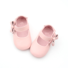 Lovely Pink Bowknot Girls Klädskor Design