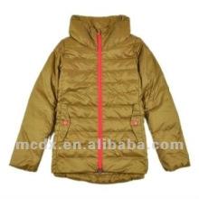 Stylish down feather coat