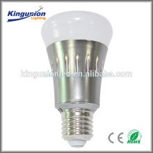 CE Rohs UL certificado todo vidrio LED Bulb Light Dimmable esposa RF controlador