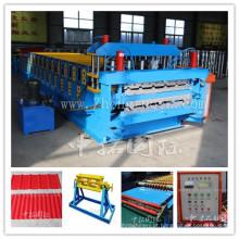Linha de produção de perfil de metal IBR máquina de folha de telhado