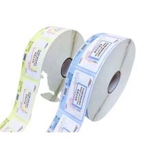 Printed Adhesive Sticker Label Good Price Roll