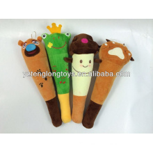 China factory plush massage stick plush animal sticks