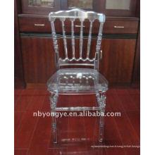 Chaise napoleon en résine de glace