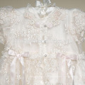 Hohe Qualität Western Baby Mädchen Taufe Geburtstag Kleid mit Hut Baby Geburtstag Taufe Mädchen Kleid