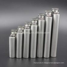 De haute qualité en acier inoxydable de vente chaude toutes sortes de fiole de hanche d'alcool avec le logo d'OEM