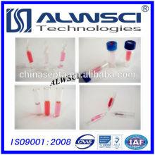 Fabricação de frasco para inserção de vidro 250ul