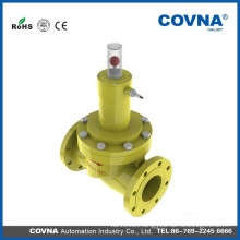 gas emergency shut off valve 24v flange solenoid valve