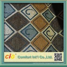 Polyester Jacquard Design Chenille Sofa Fabric
