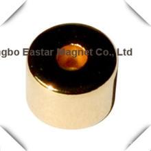 Imán de neodimio sinterizado imán permanente anillo