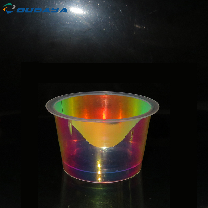 Food iml plastic pp cup for yogurt pudding